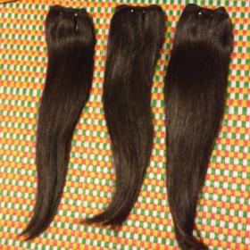 Straight Hair - Double Drawn