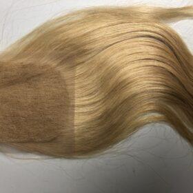 Straight Blonde Closure 4x4