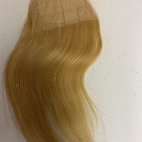 Straight Blonde Closure 5x5